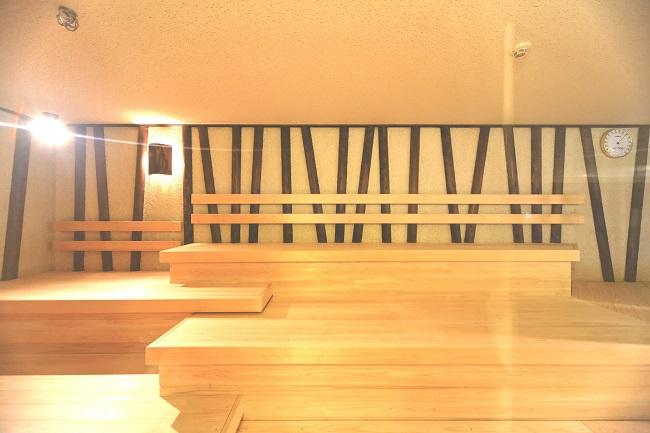 【神戸クアハウス】高温サウナ室