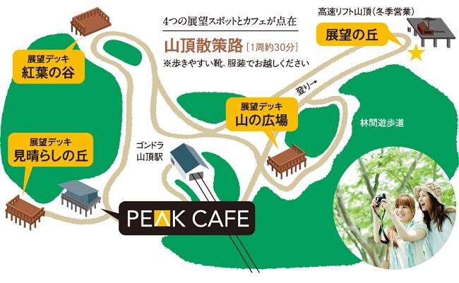 山頂散策路マップ