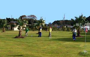 勝浦ホテル三日月グラウンドゴルフ