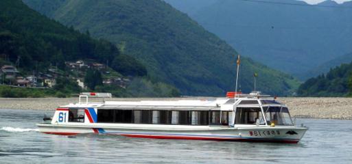 熊野観光開発 瀞峡ウォータージェット船