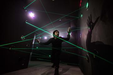 超密室 レーザートラップ