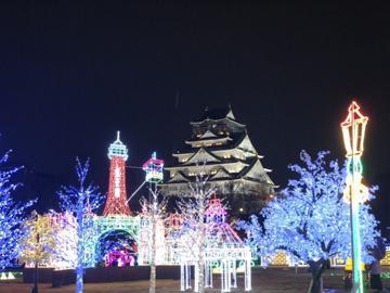 大阪城イルミナージュ2020
